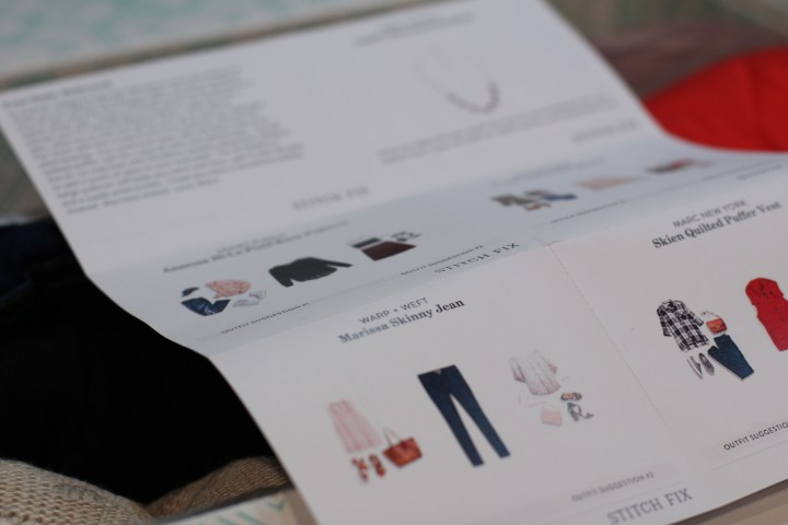 Stitch Fix Style Cards