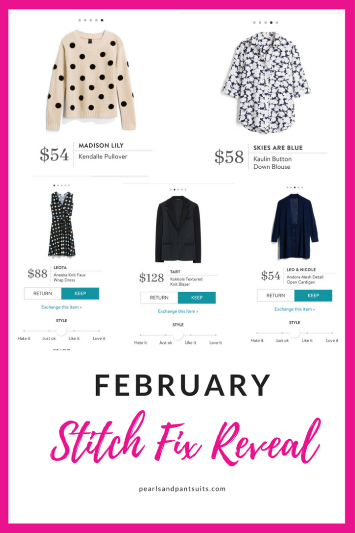 February Stitch Fix Reveal