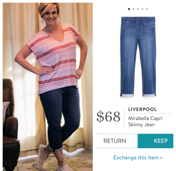 Liverpool Mirabella Capri Skinny Jean