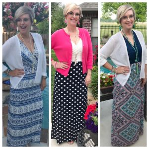 How to Style a Cardigan with a Maxi Dress