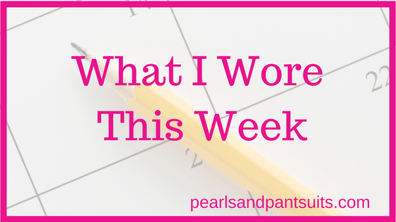 What I Wore This Week – September