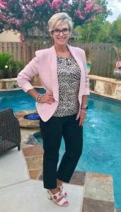 How to style pink with leopard print
