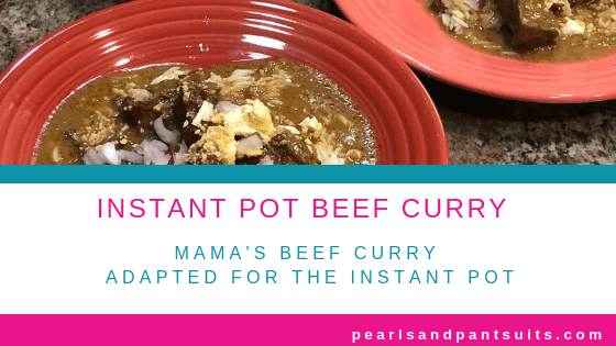 Quick and Easy Instant Pot Beef Curry