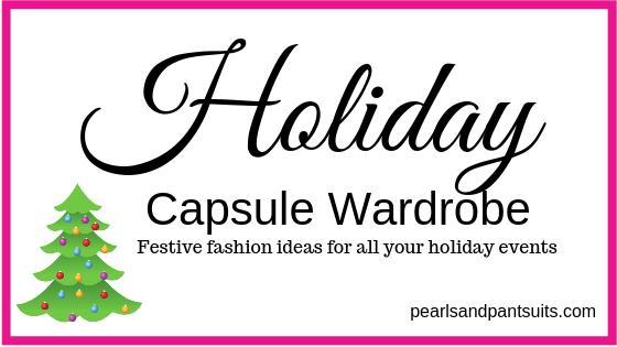Holiday Fashion Capsule Wardrobe