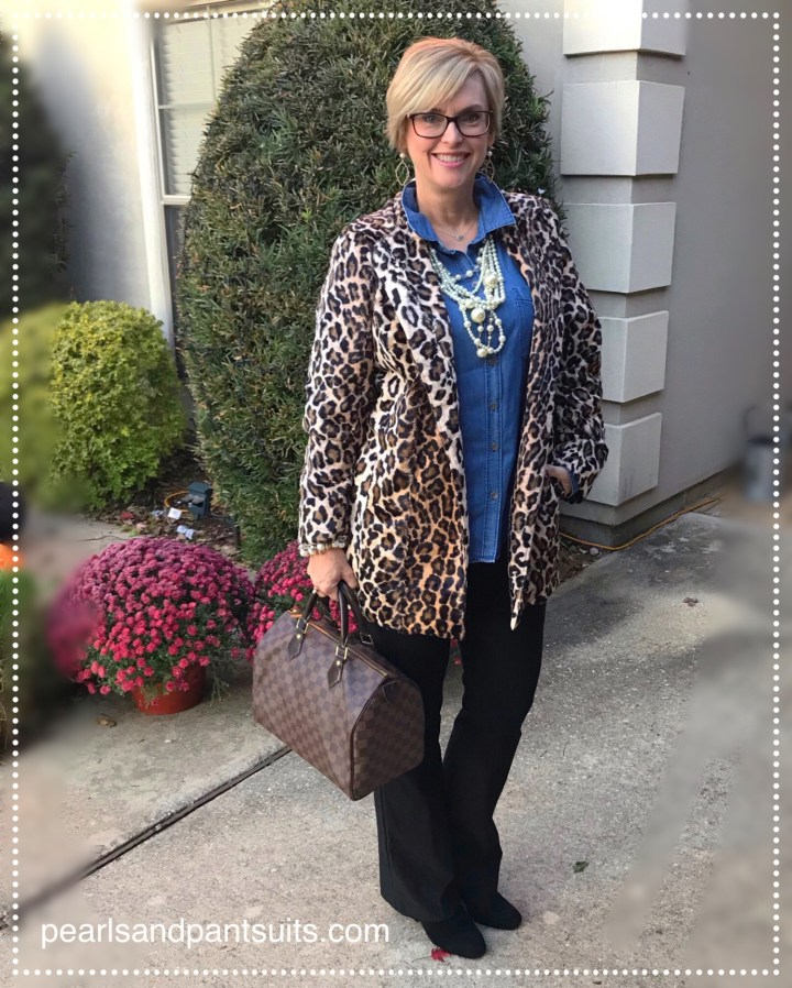 Leopard Jacket from Chico's