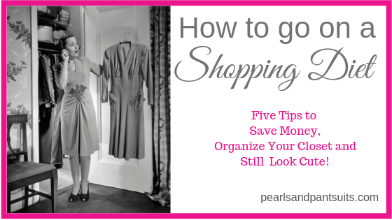 How to go on a Shopping Diet