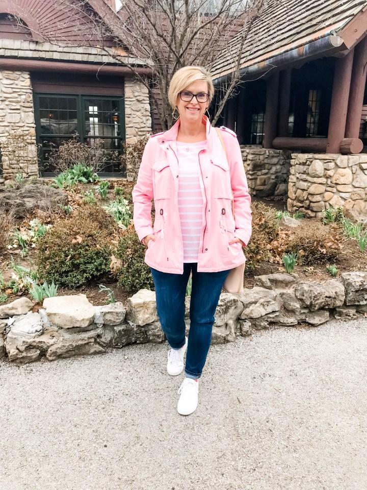 Pink Levi's Jacket