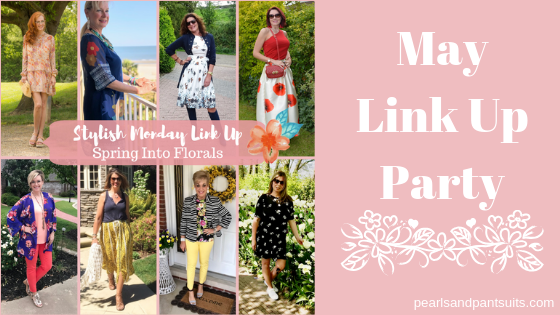Spring Into Florals Link Up Party!