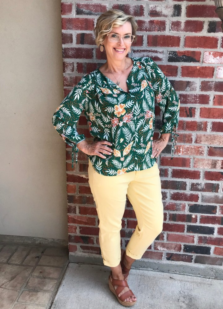 Collective Concepts Top and Cosmic Blue Love Pant   Stitch Fix