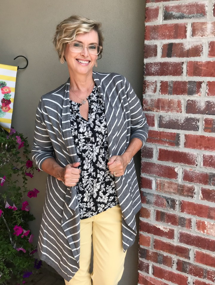 Gray Waterfall Cardigan - Stitch Fix