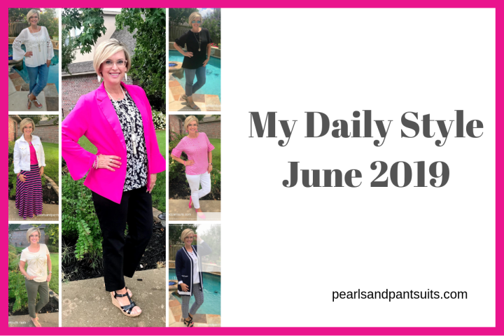 My Daily Looks – What I Wore in June