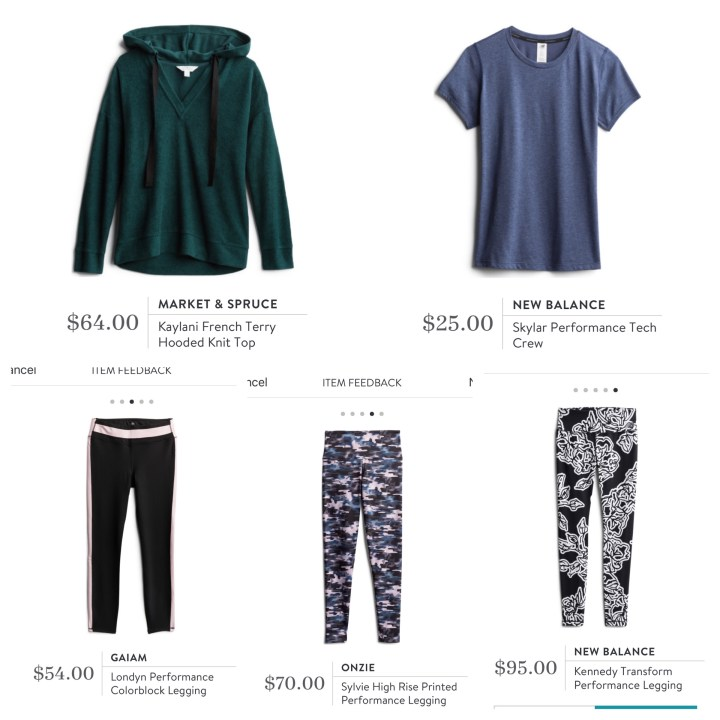 Stitch Fix Active Wear
