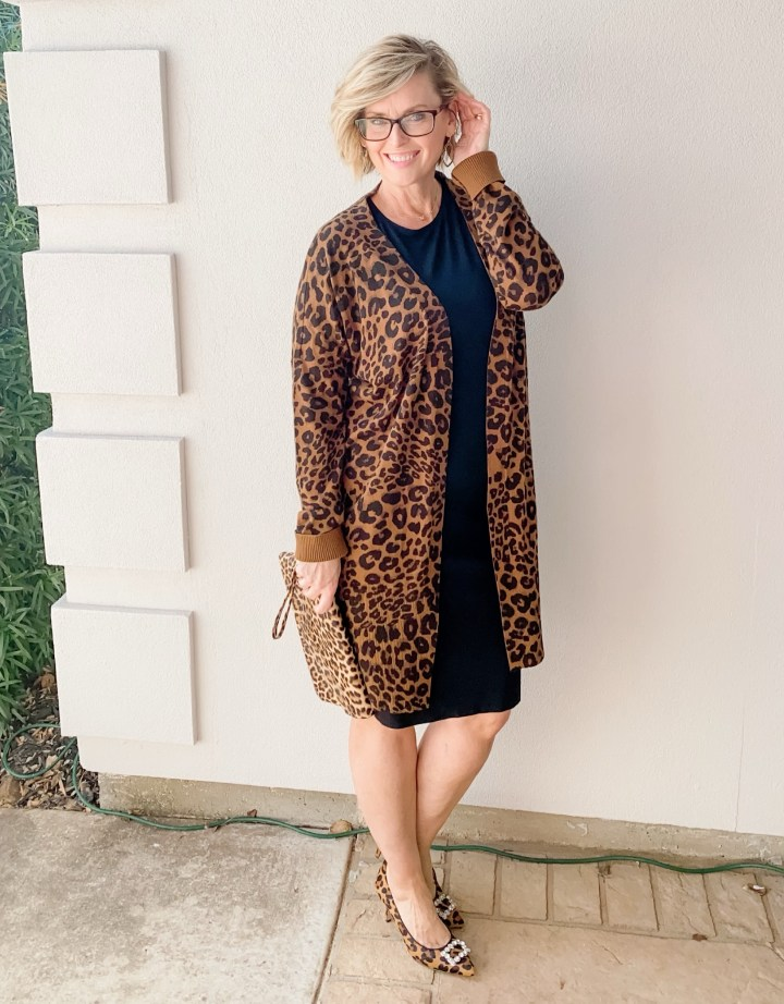 Stitch Fix Leopard Cardigan