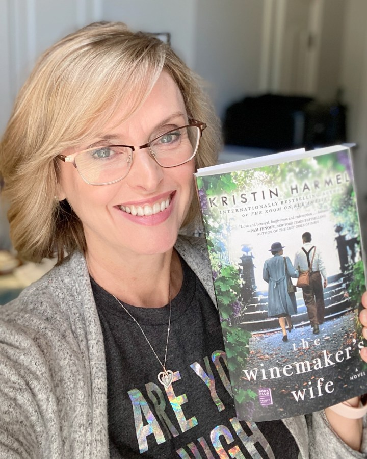 New book I love; The Winemaker's Wife