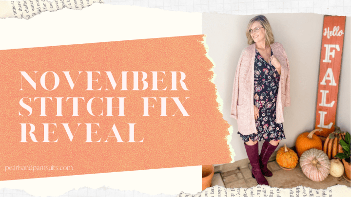 My November Stitch Fix Reveal