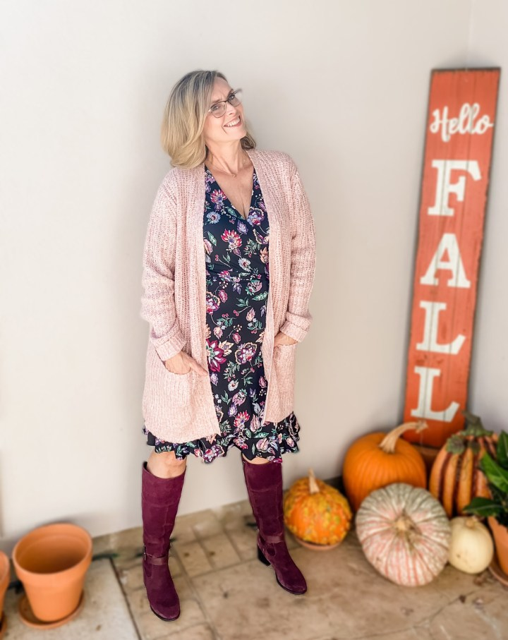 Sweater, Dress & Tall Boots | Stitch Fix