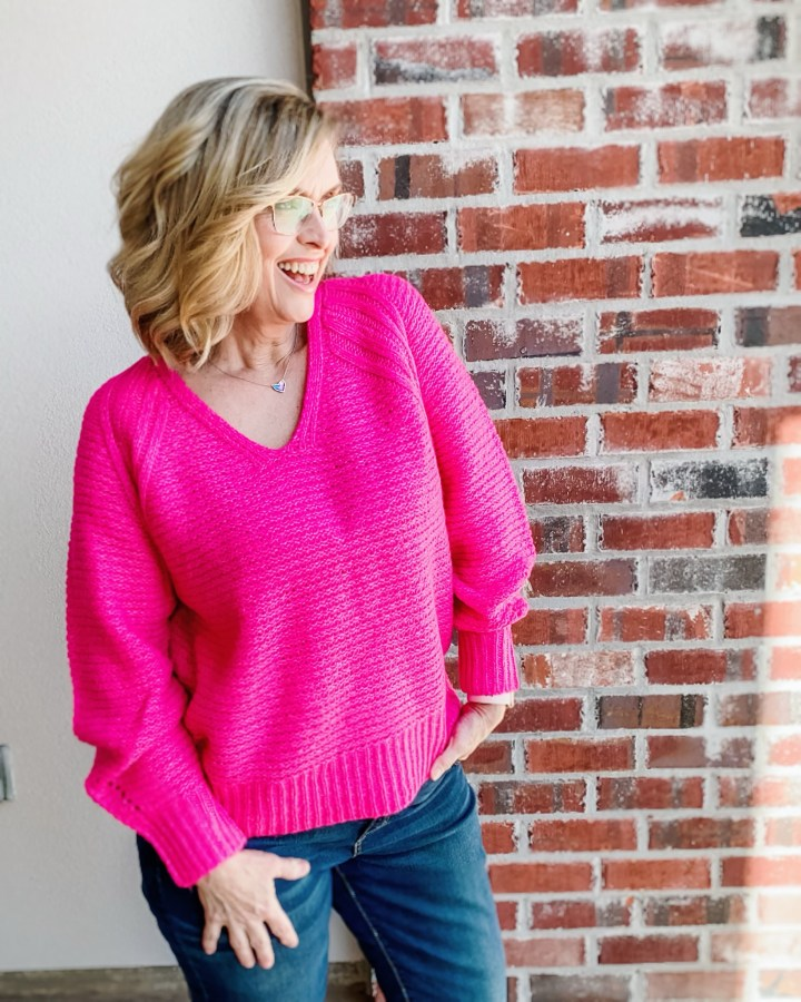 Styling Bright Sweaters in Winter