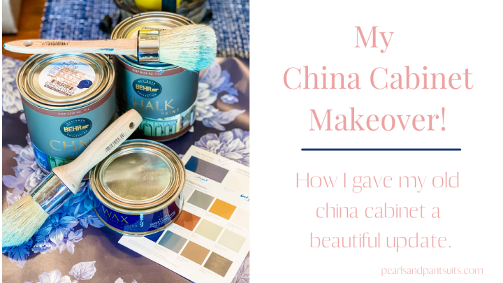 My China Cabinet Makeover