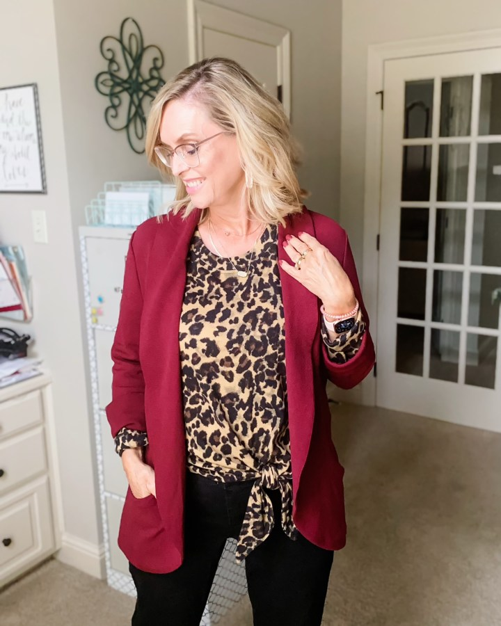 Maroon French Mauve Jacket from Stitch Fix
