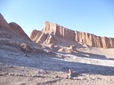 Amazing landscape in Valle de la Luna, or Valley of the Moon.