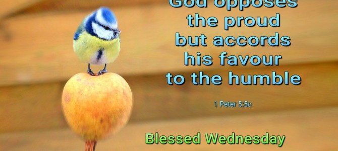 God accords his favour to the humble (BL)
