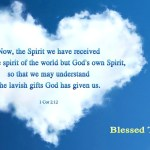 We have God's own Spirit (BL)