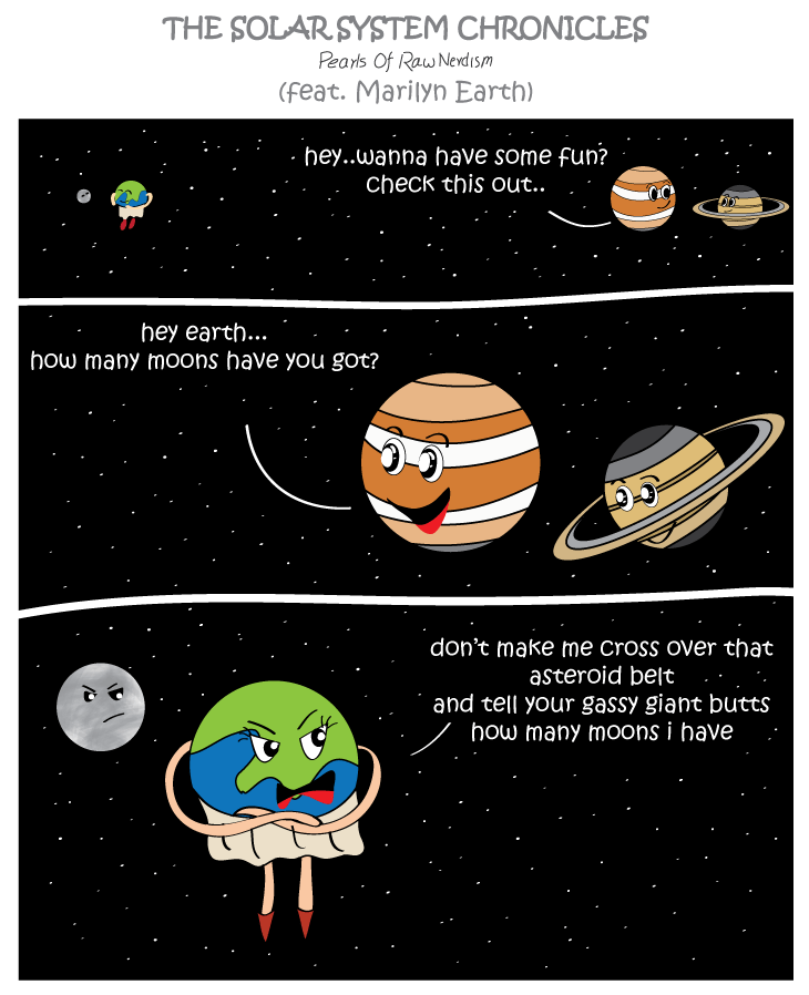 The Solar Systems Chronicles - Moons