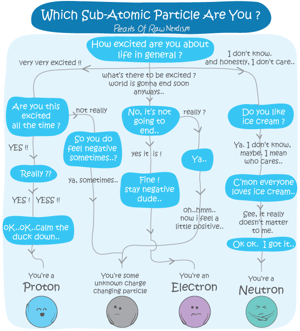 Which Sub-Atomic Particle Are You?
