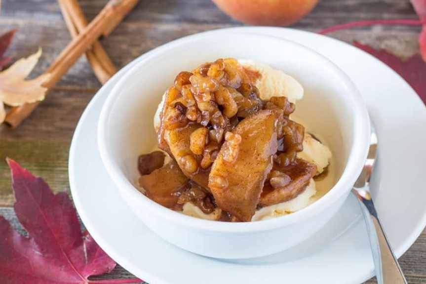 Caramel Apple Pie Ice Cream Sauce