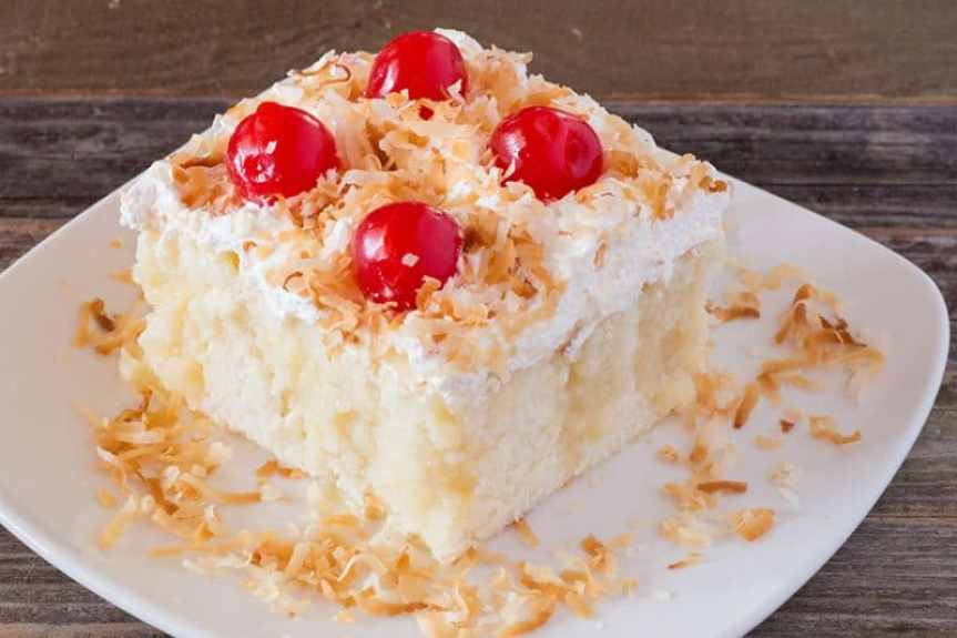 Cream of Coconut Cake