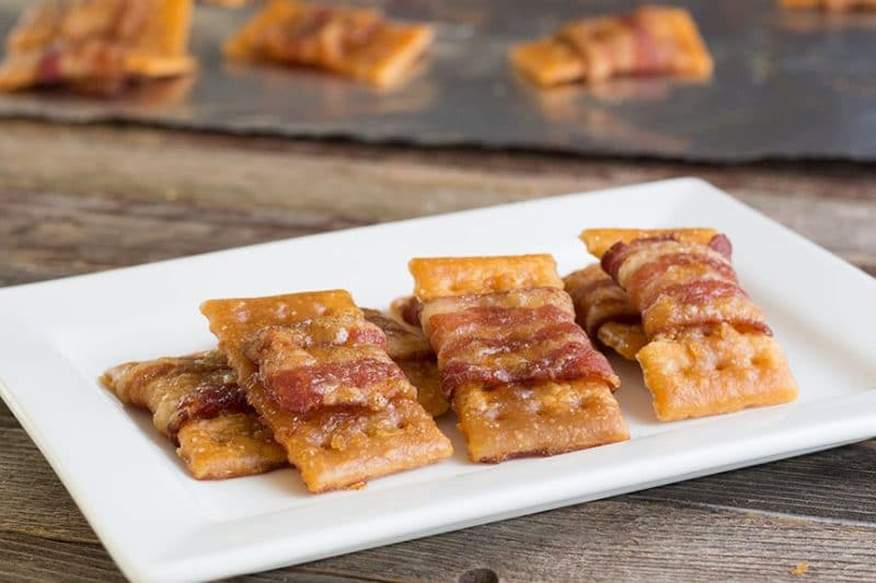 Sweet Bacon Crackers