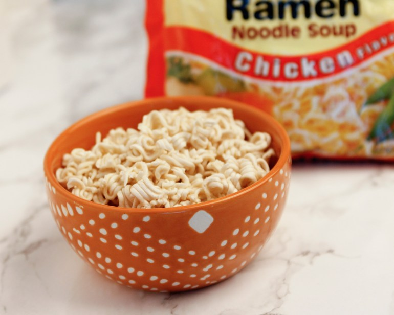 Bowl of Ramen Noodles