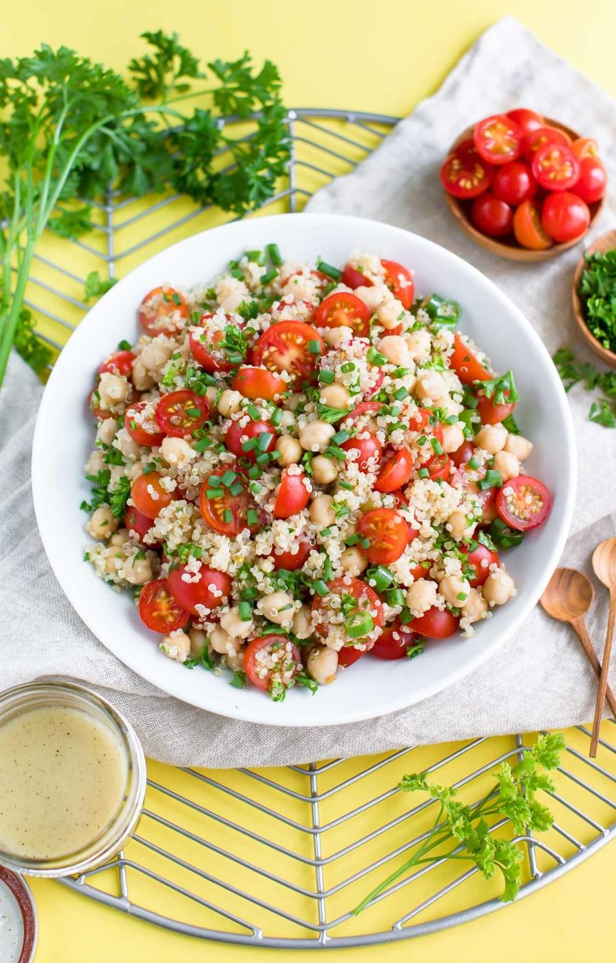 tomato quinoa salad recipe