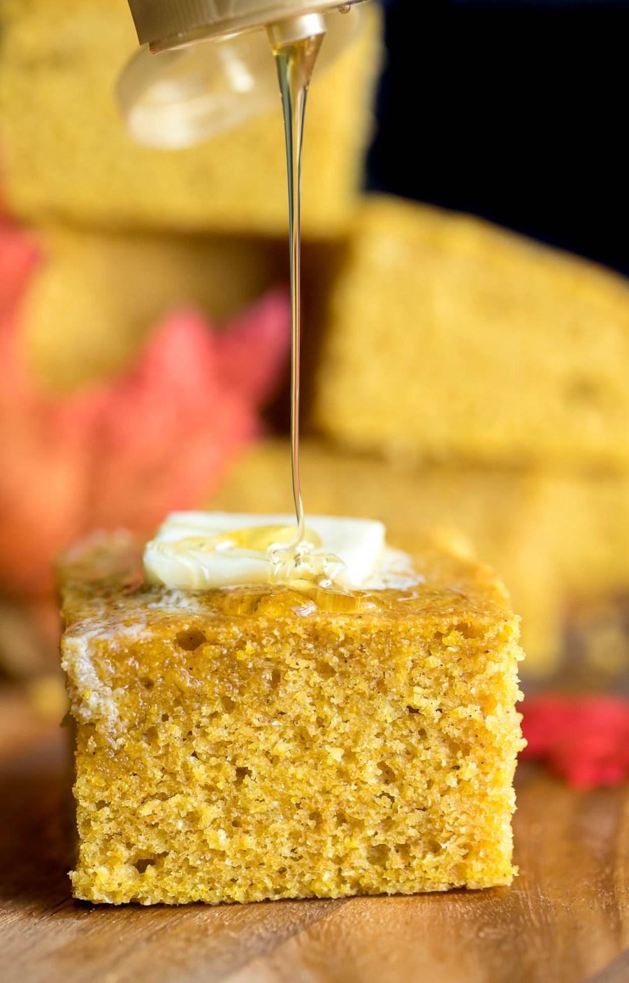 Pumpkin Cornbread Recipe