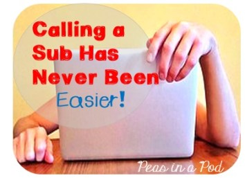 substitute plan template http://peasinapodlessons.com/take-the-stress-out-of-calling-a-sub/