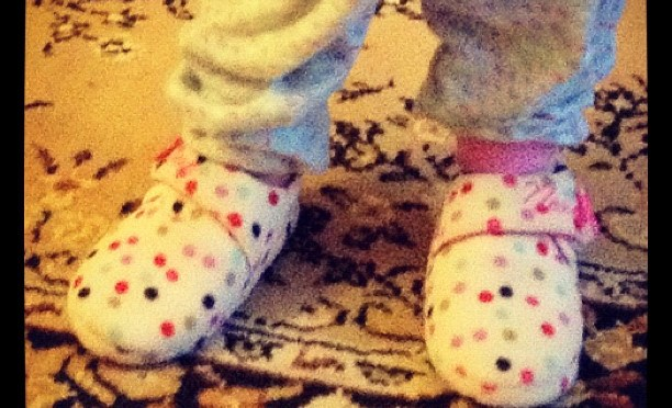 Spotty Slippers