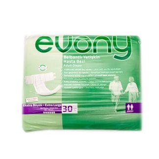 Scutece adulti Evony, 6 picaturi, marimea XL