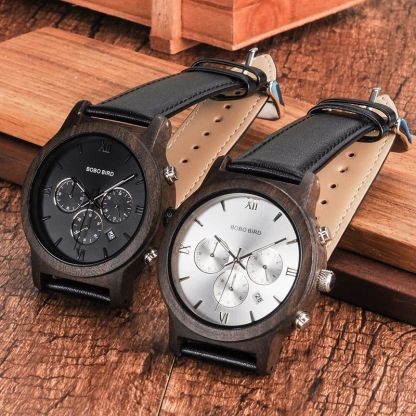 Ceas din lemn Bobo Bird crono, P28