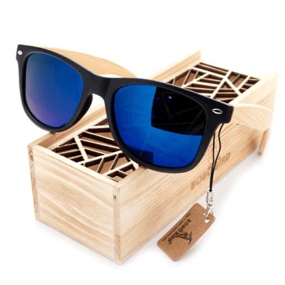 Ochelari de soare Bobo Bird CG004, lentila albastra
