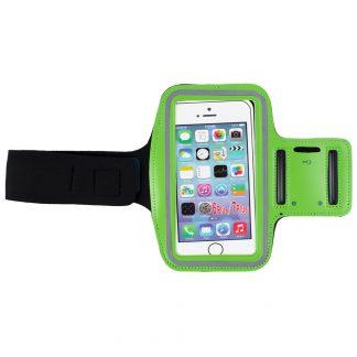 Husa telefon pentru brat verde