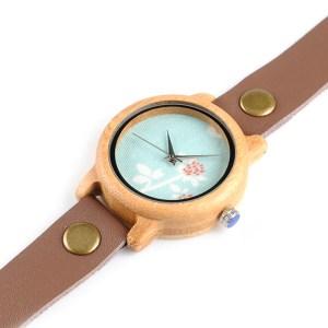 Ceas din lemn Bobo Bird cu curea lunga