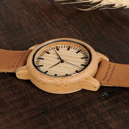 Ceas din bambus Bobo Bird A20