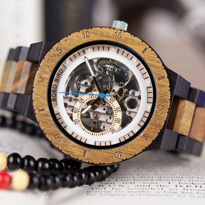 Ceas din lemn Bobo Bird R05