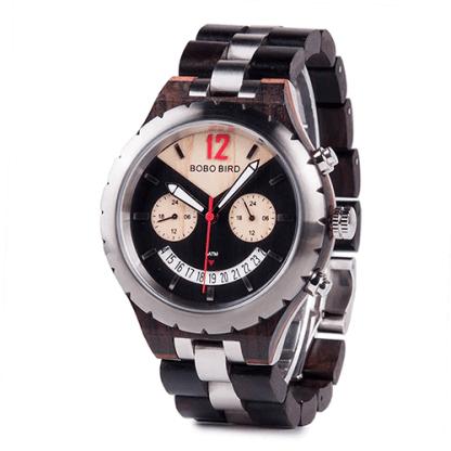 Ceas din lemn Bobo Bird Q28-1