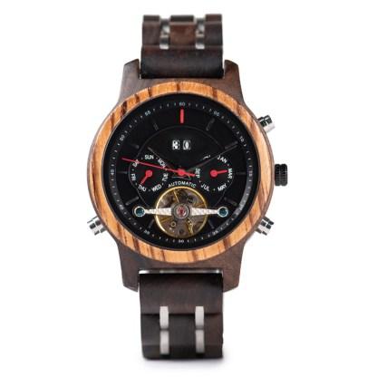Ceas din lemn Bobo Bird mecanic Q27-5