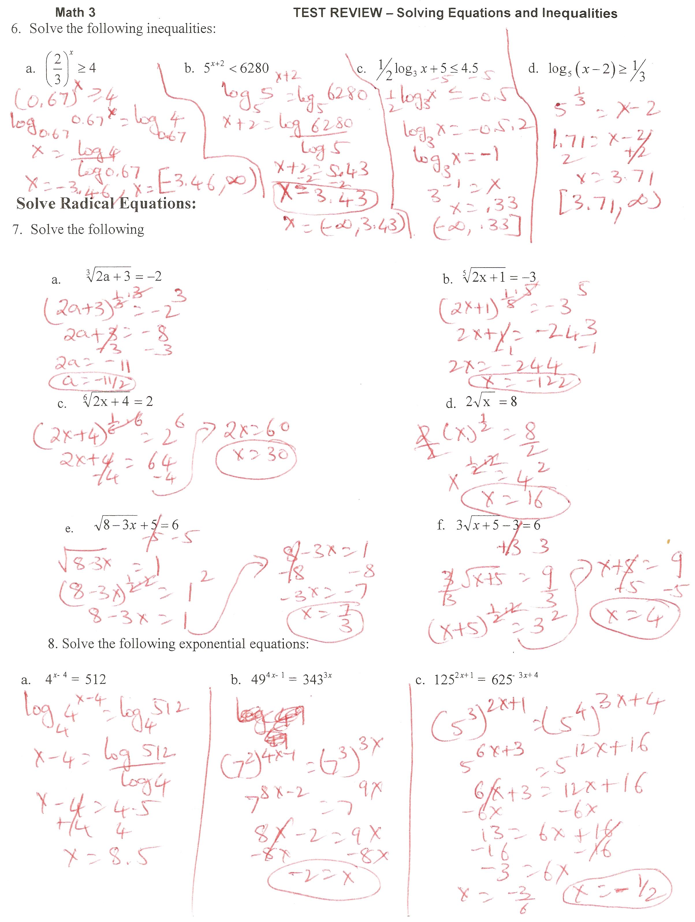 Ms Osawaru Advanced Algebra