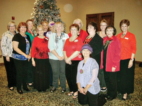 PC Quilters Board, left to right: Linda Shaver, Joni Reynertson, Millissa Masters, Joanne Kraatz, Kim Lagerstrom, Sue Godwin, Susan Wendt, Pam Branfhur, Chris Booth, Iris Weiss, Liz Gray, Shirley Cushing, Linda Labenz and Donna Aybar in front