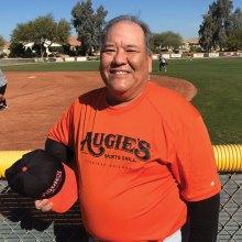 "Rich ""The Big Kahuna"" Christiansen is secretary for the PebbleCreek Senior Softball Board."