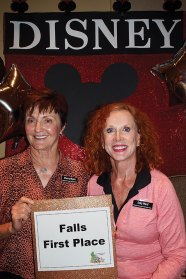 First Place Sherry Myers and Sally Ward
