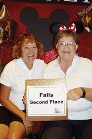 Second Place Diana Martell and Kathy Mitchell